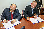 An Agreement signed betw UP MS and ORFK