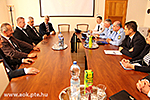 Delegation of the Hungarian Police Headquarters at UPMS